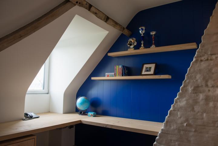 Bureau in jeugdkamer