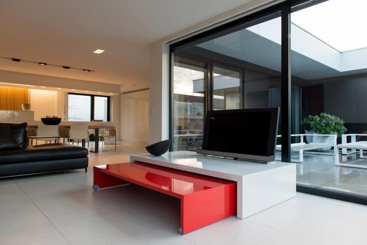 TV meubel in hoogglans